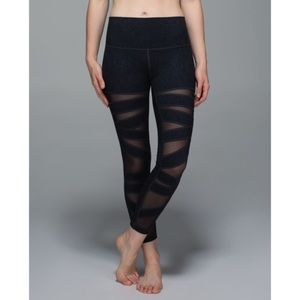 Lululemon High Times Tech Mesh Desert Snake